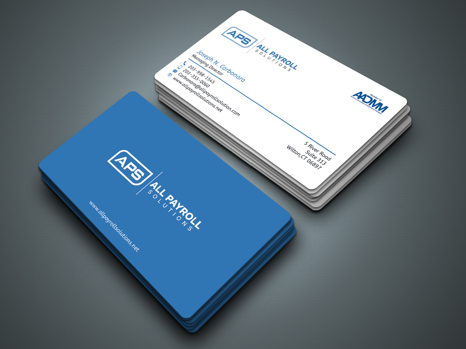 Serious, Modern, Financial Service Business Card Design for All ...