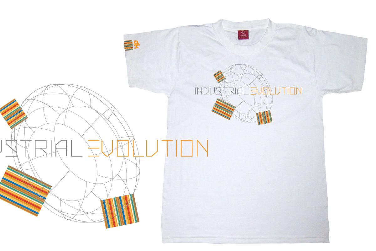 Elegant modern industrial t shirt design for a company for Industrial design t shirt