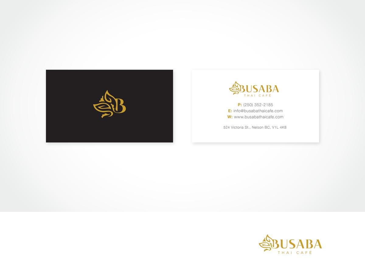Serious, Elegant, Asian Restaurant Logo and Business Card Design for ...