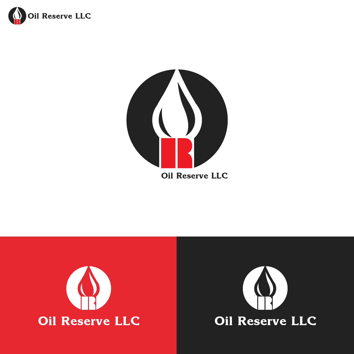 Serious Professional It Company Logo Design For Oil Reserve By