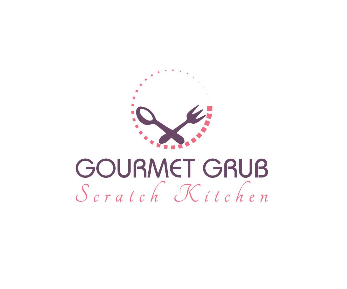 Modern, Elegant, Restaurant Logo Design for Gourmet Grub Scratch ...