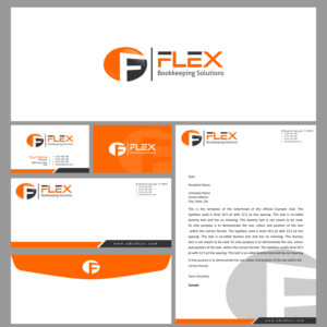 modern professional logo design job logo brief for flex