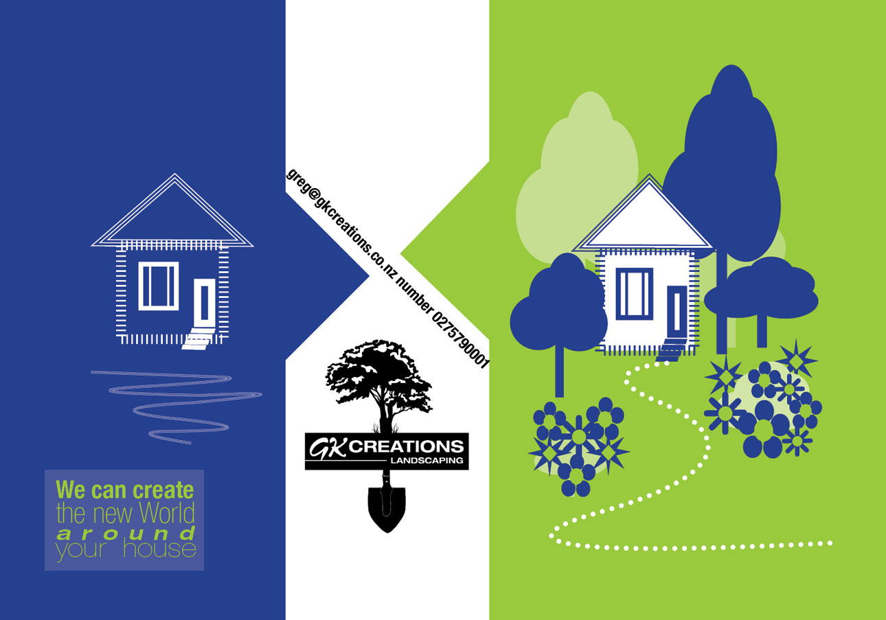 Serious modern landscape gardening flyer design for a for Landscape design jobs new zealand
