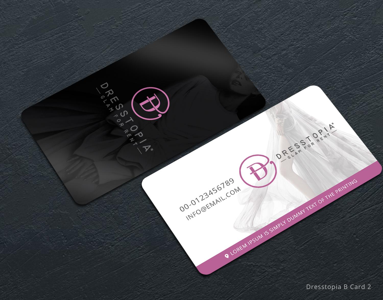 Feminine modern business card design for hugo costa by for Feminine business cards