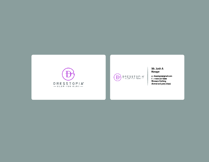 Feminine, Modern, Womens Clothing Business Card Design for a Company ...