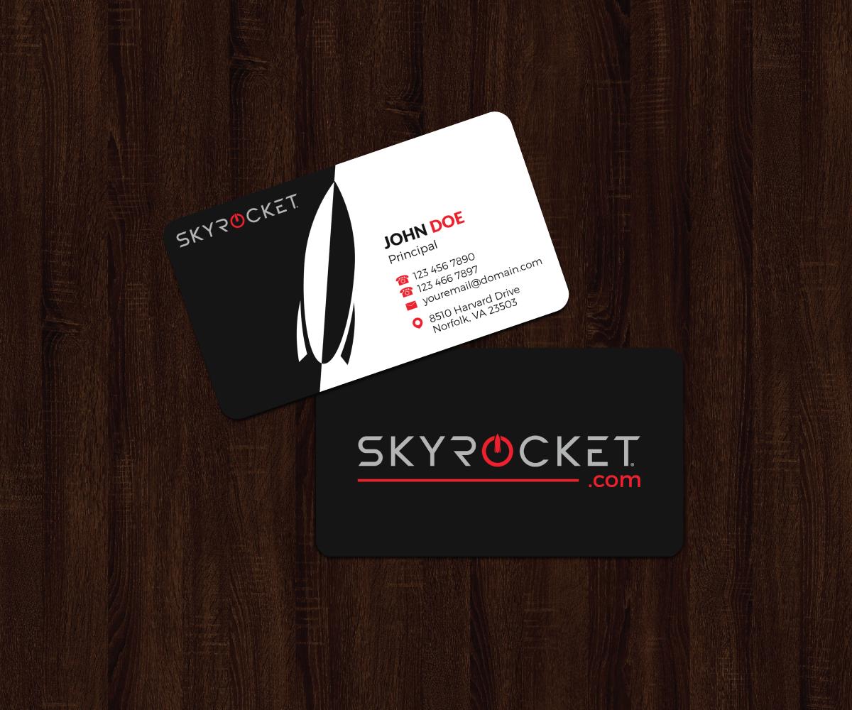 Upmarket elegant business business card design for skyrocket toys business card design by jk18 for skyrocket toys design 14299784 reheart Gallery