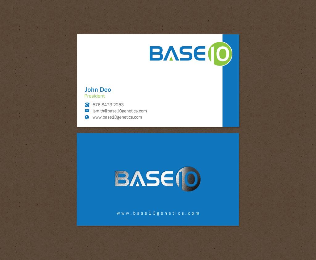 Design De Carte Visite Par Brand Aid Pour Ce Projet