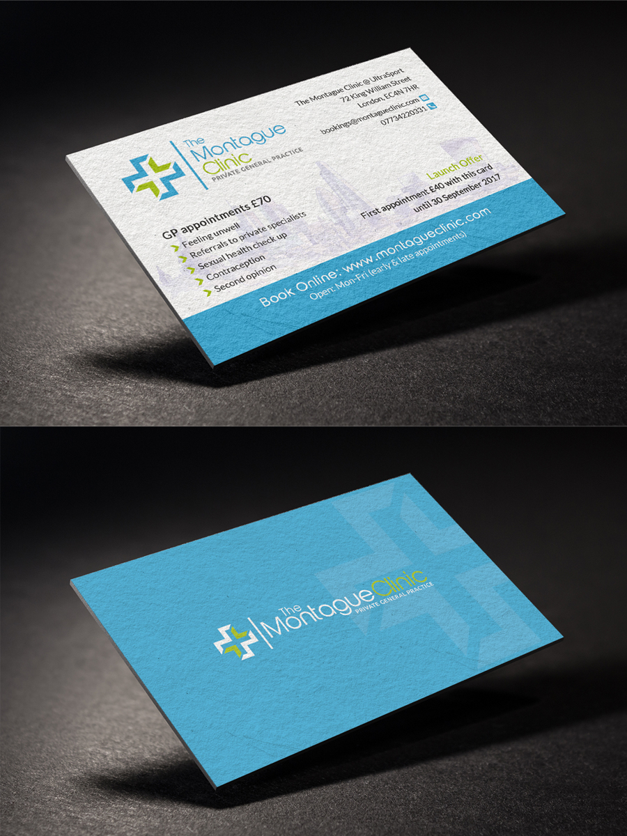 Upmarket, Modern Business Card Design for Om Banerjee by ...