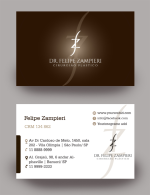 Surgeon business card design galleries for inspiration business card for a plastic surgeon business card design by rkailas colourmoves