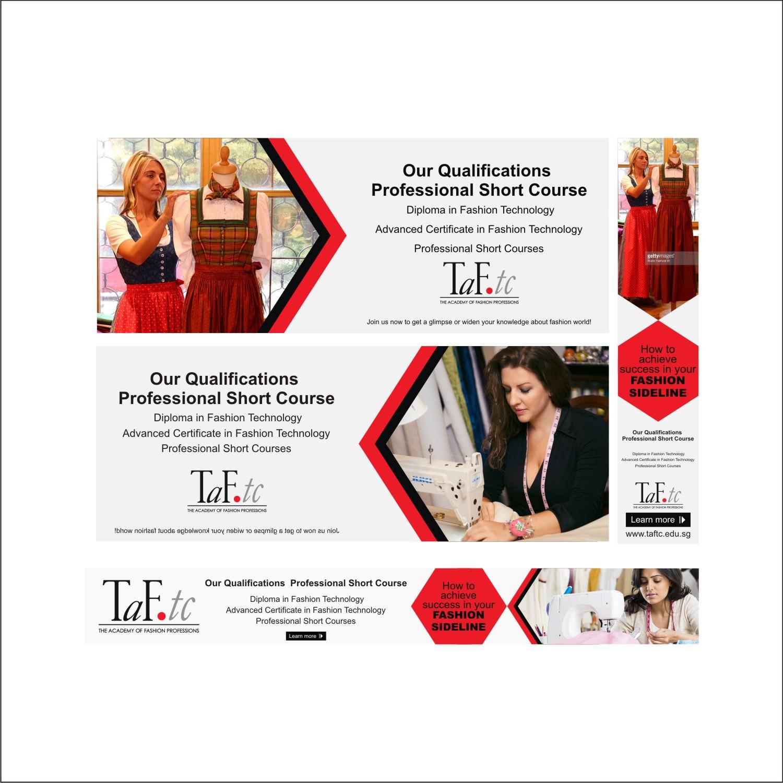 Modern Feminine Fashion Banner Ad Design For Taf Tc By Dhanaraj Design 14337841