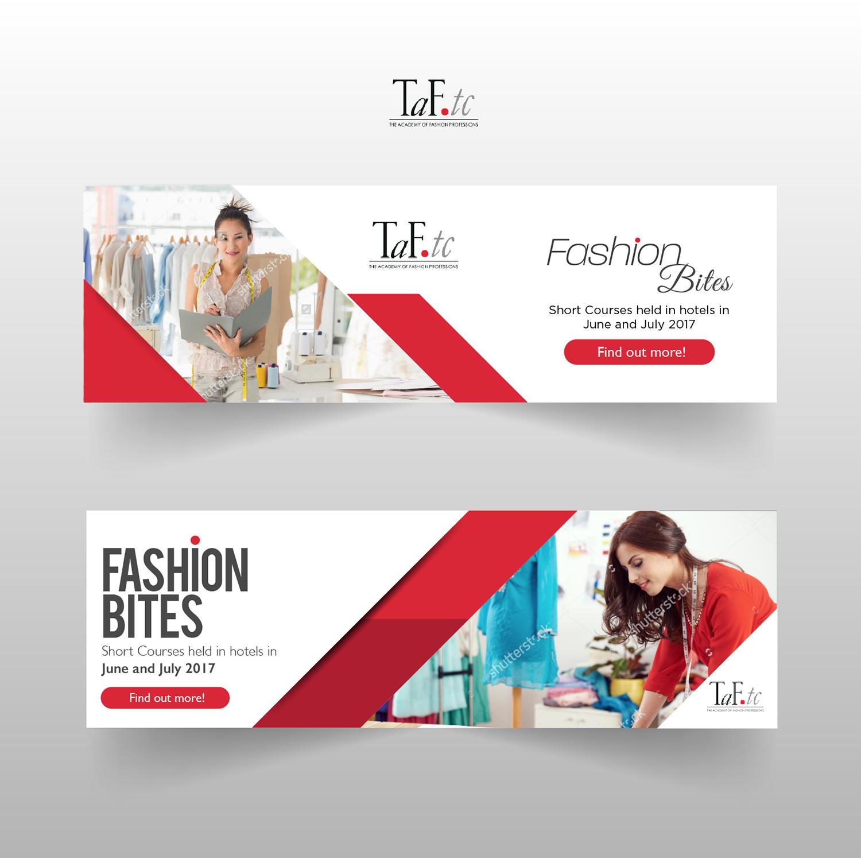 Modern Feminine Fashion Banner Ad Design For Taf Tc By Sd Designs Design 14363634