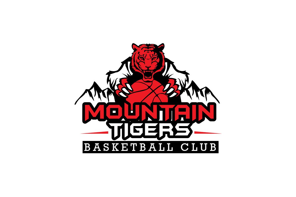 modern bold club logo design for mountain tigers basketball club rh designcrowd com mountain tigers basketball fixtures