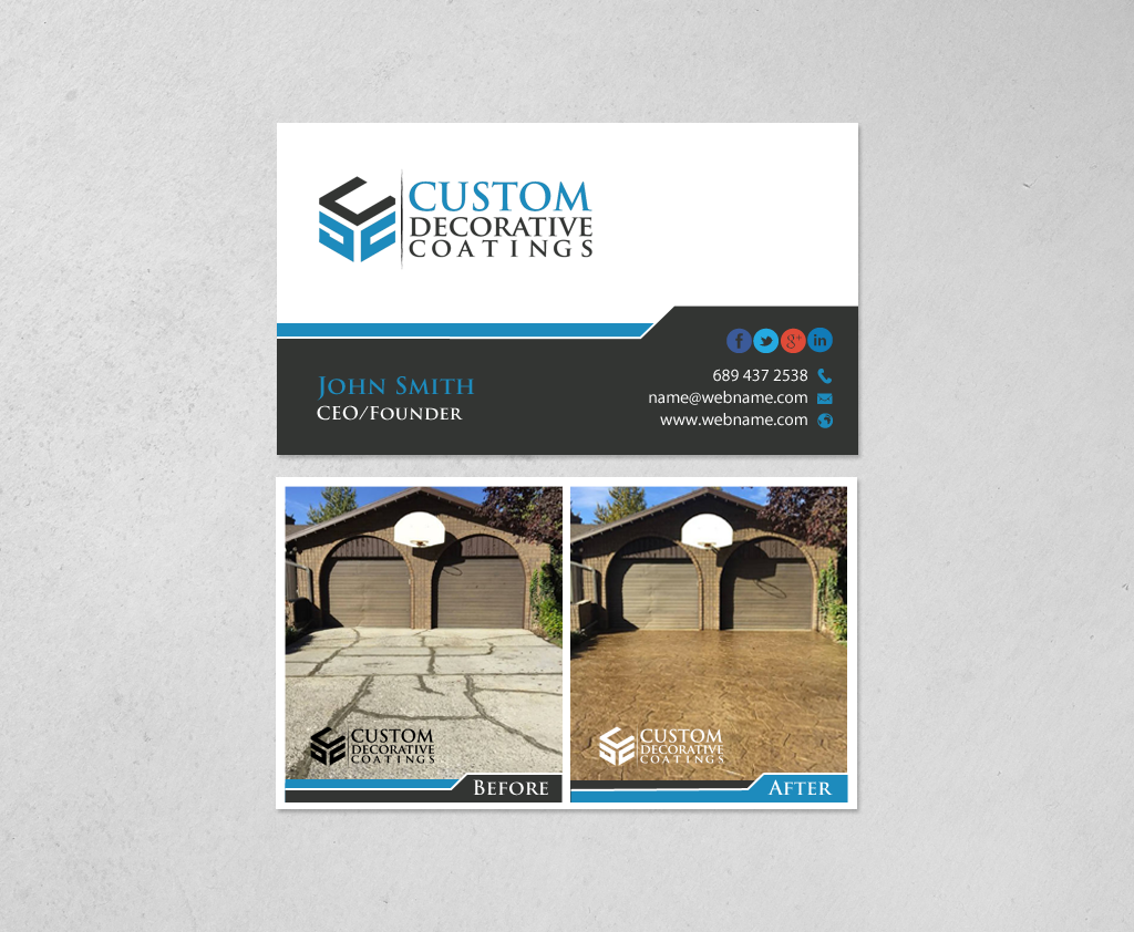 130 Upmarket Business Card Designs   Concrete Business Card Design ...