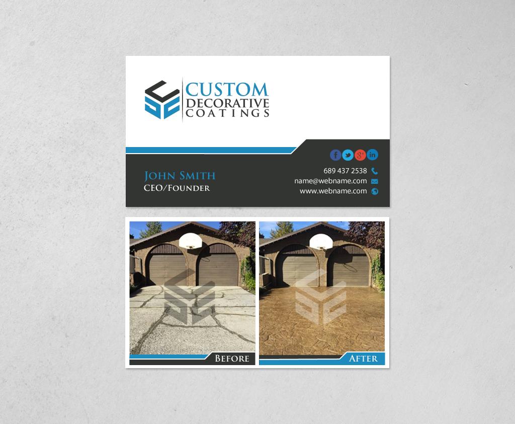 Upmarket, Bold, Concrete Business Card Design for Hammerschmidt Law ...