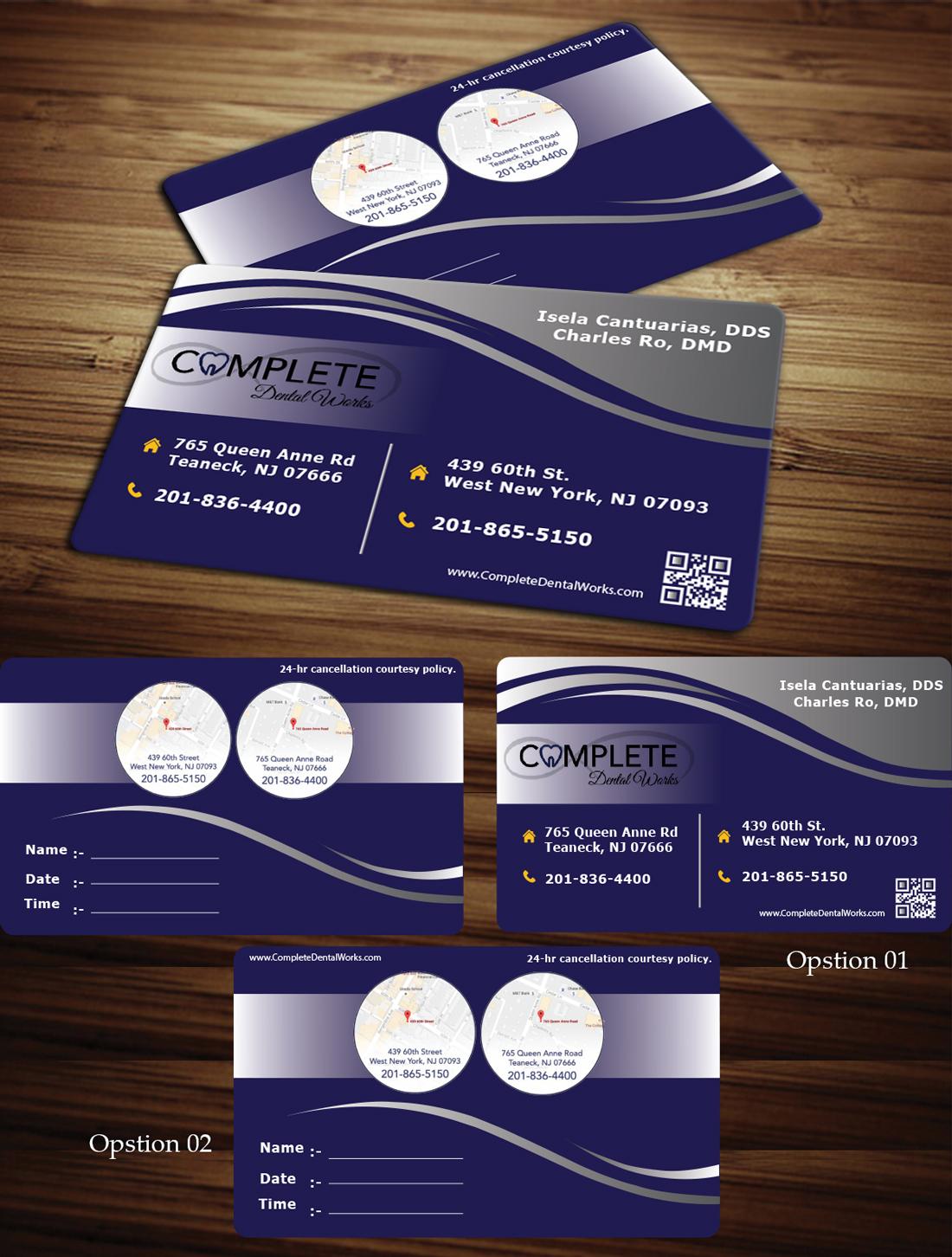 144 elegant business card designs dental business card design business card design by siriwardanasampath5 for one and only complete dental design 14448735 reheart Images
