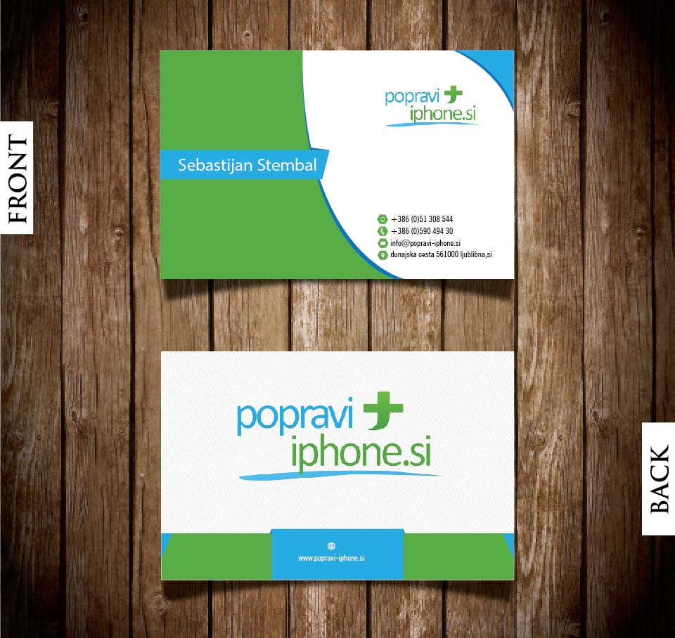 Elegant playful business business card design for rv studio business card design by logicsdesign 101 for rv studio sebastijan tembal colourmoves