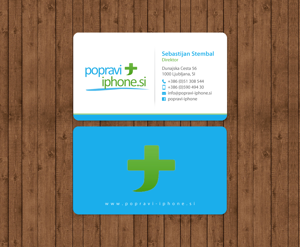 Elegant playful business business card design for rv studio business card design by chandrayaaneative for rv studio sebastijan tembal reheart Image collections