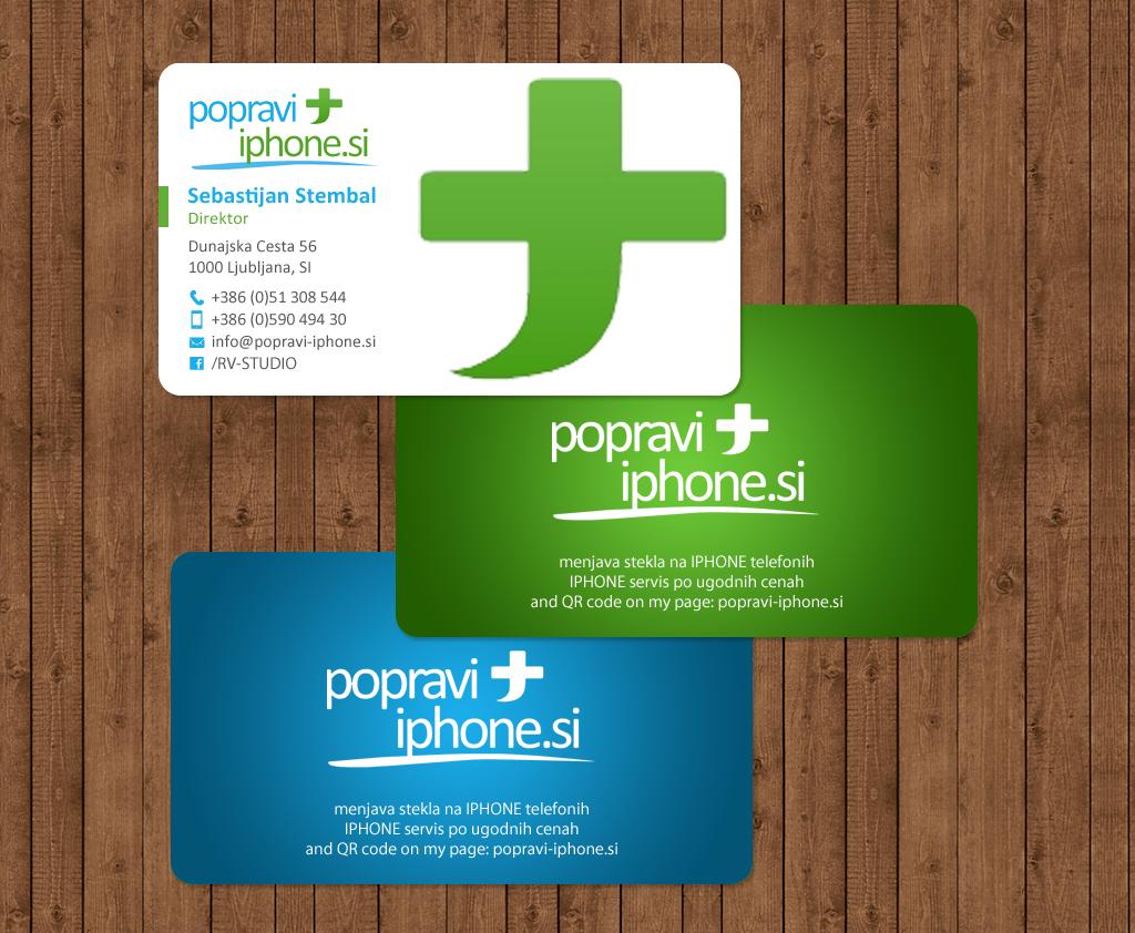 Elegant, Playful, Business Business Card Design for RV-STUDIO ...