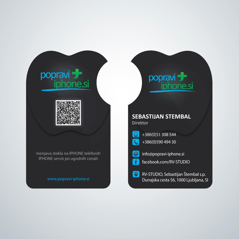 Elegant, Playful Business Card Design for RV-STUDIO, Sebastijan ...