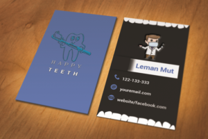 Playful modern business business card design for a company by business card design by momoothoi for this project design 14481338 colourmoves