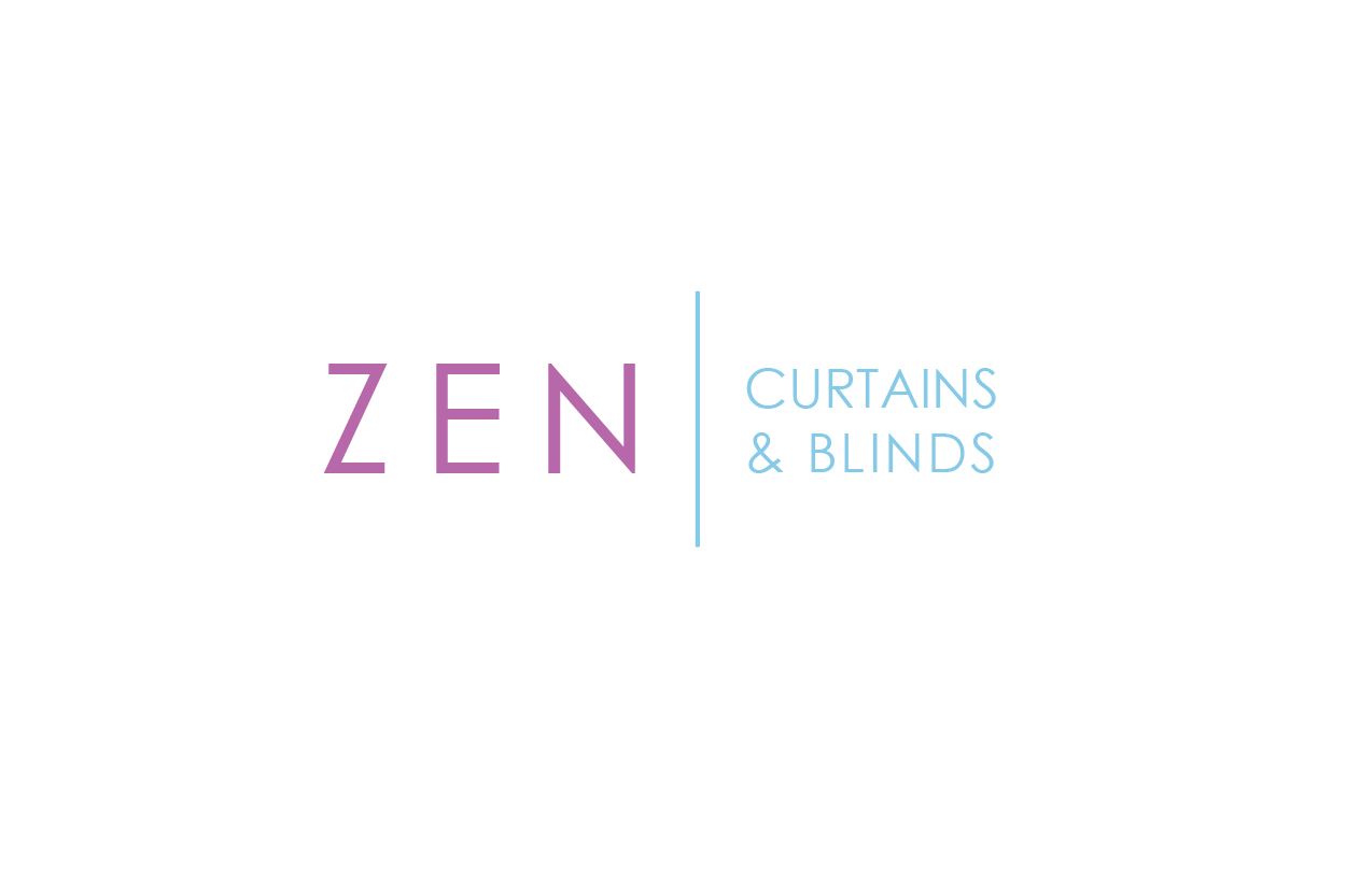 Logo Design by gogi71 for Zen Curtains Blinds logo - Design #14662540