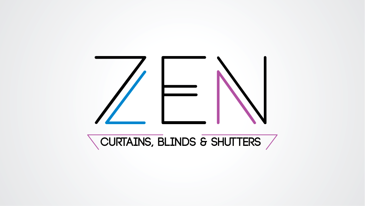 Logo Design by Lighten Creative Graphix for Zen Curtains & Blinds | Design #14410168