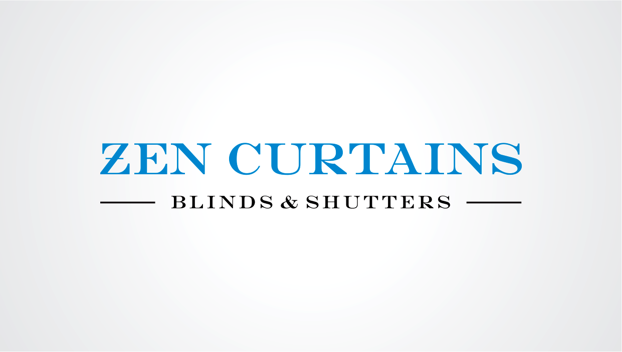 Logo Design by Lighten Creative Graphix for Zen Curtains & Blinds | Design #14410170