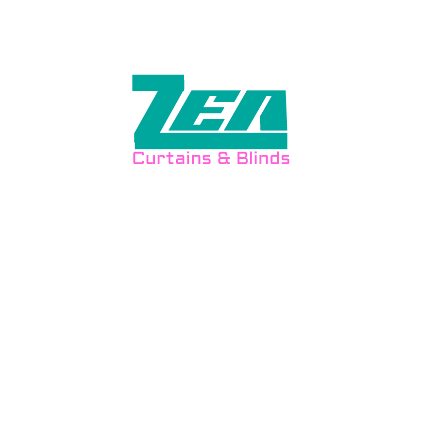 Logo Design by queenofnightsky- for Zen Curtains & Blinds | Design #14421498