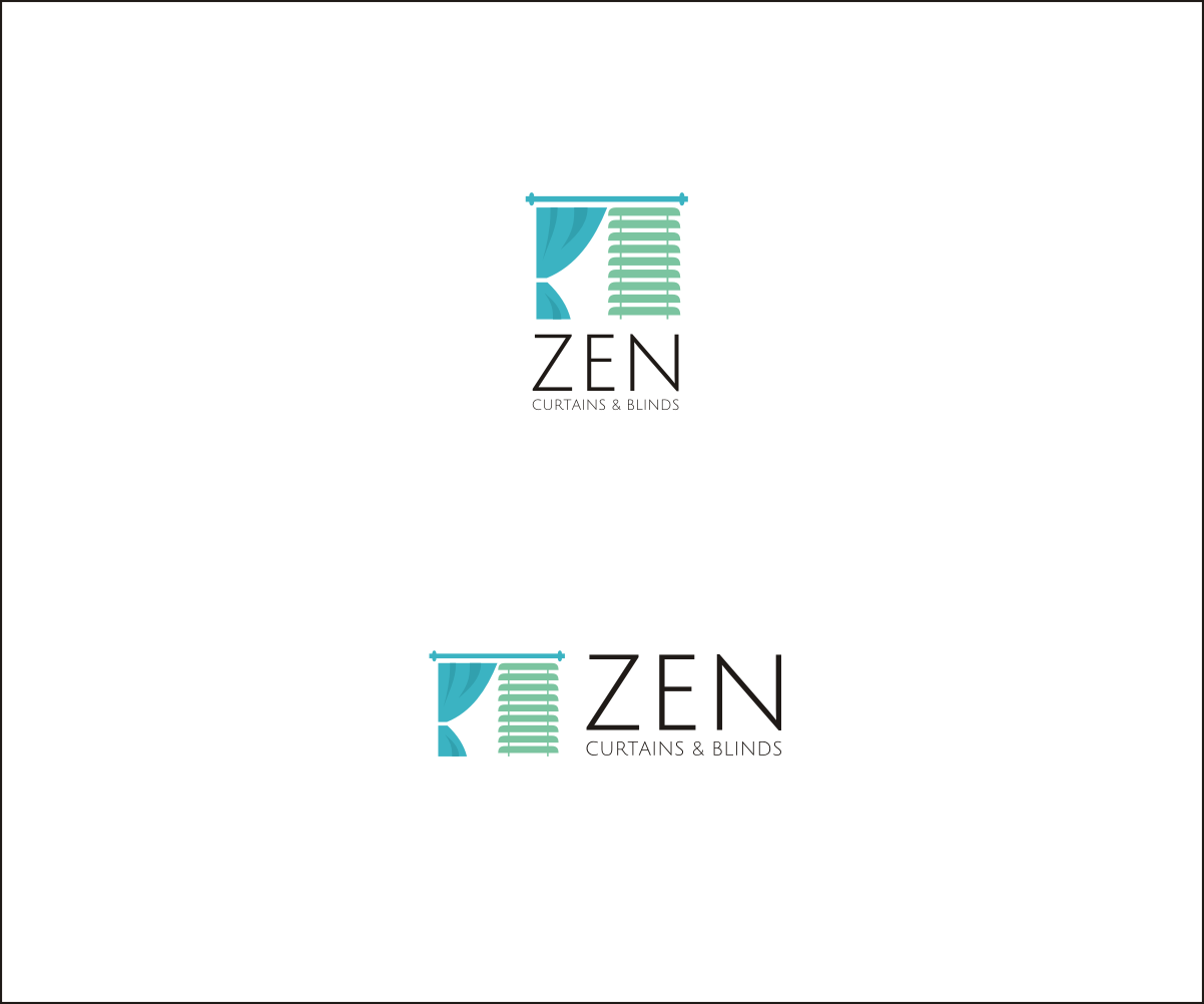 Logo Design by nusdofficial for Zen Curtains & Blinds | Design #14432987