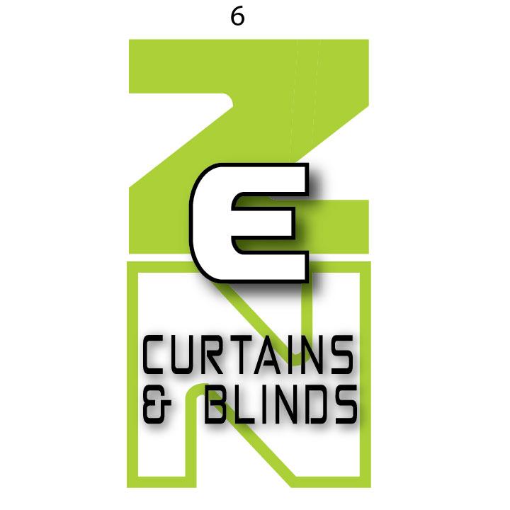 Logo Design by fourdog123 for Zen Curtains & Blinds | Design #14638487