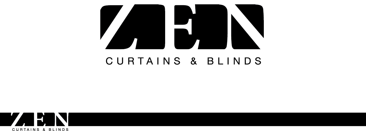 Logo Design by smdhicks for Zen Curtains Blinds logo - Design #14525734