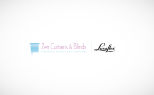 Logo Design by axyadesign for Zen Curtains & Blinds | Design #14659376