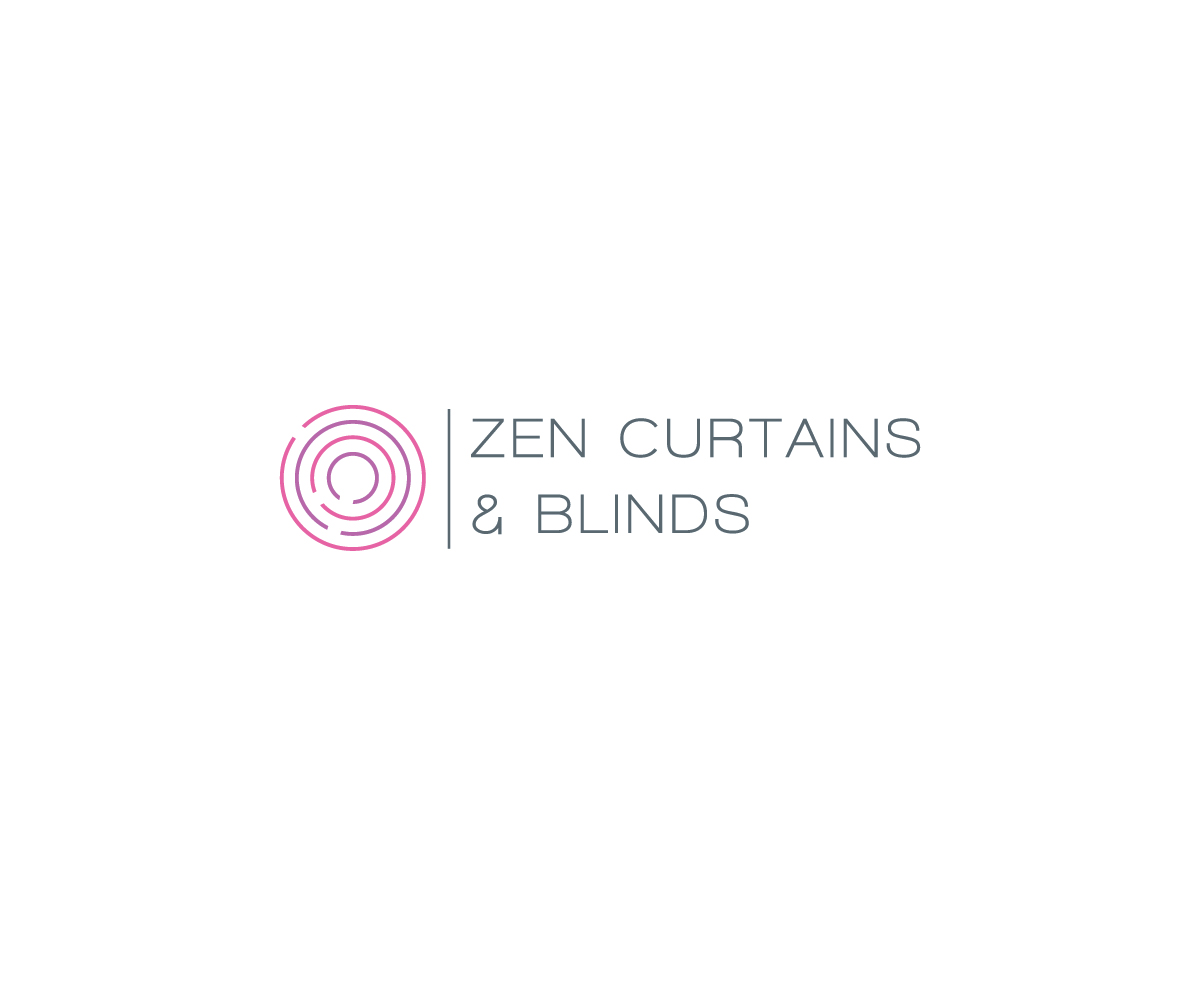 Logo Design by Designpool for Zen Curtains Blinds logo - Design #14428722