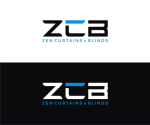 Logo Design by Graphic Junction for Zen Curtains & Blinds | Design #14659694