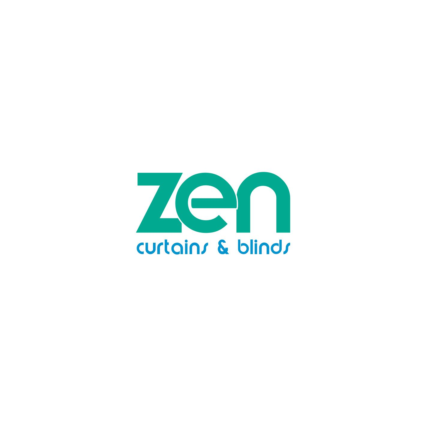 Logo Design by sivanthig115 for Zen Curtains Blinds logo - Design #14505314