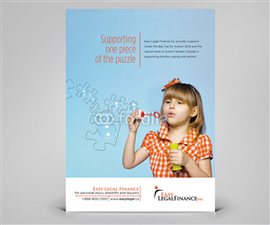 Advertisement Design by Cheeky Creative - Advertisement Design Project for a Charity