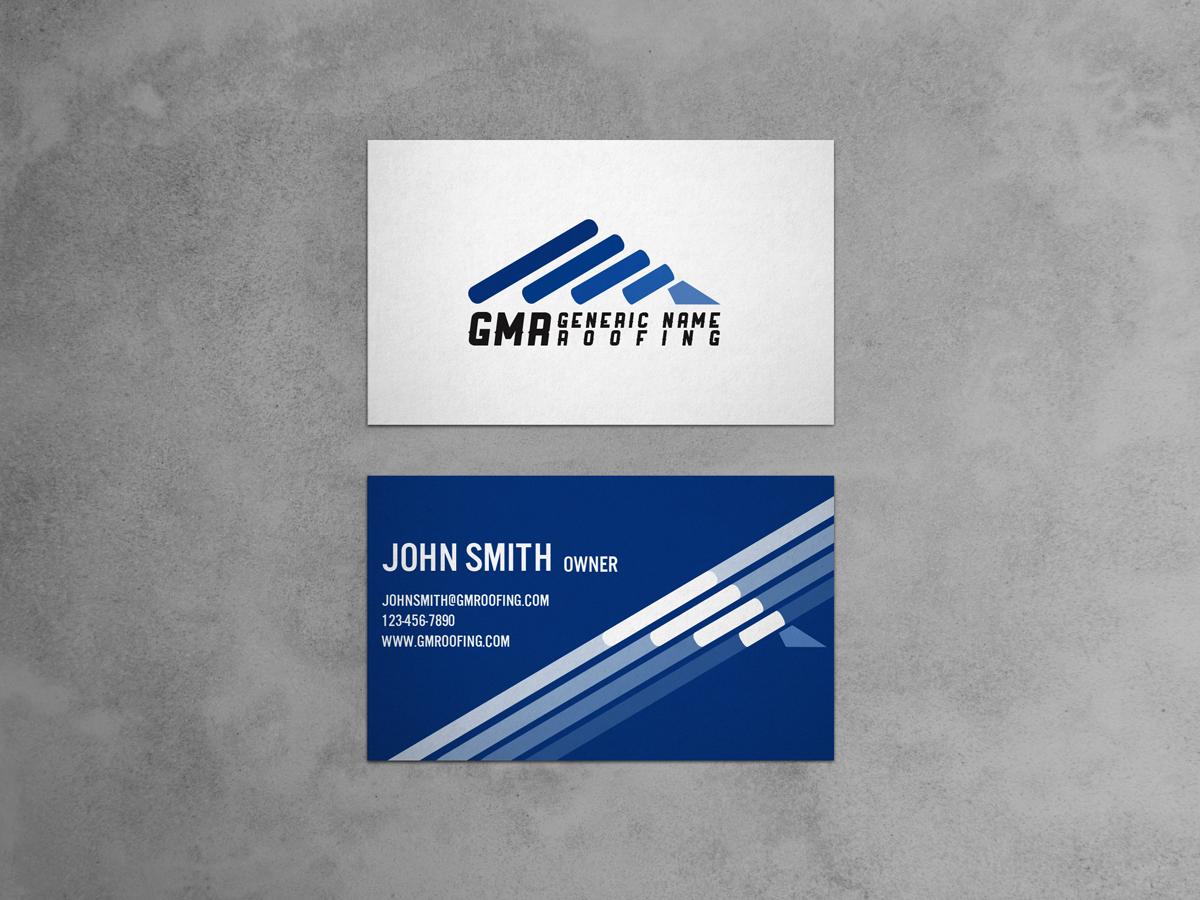 Modern, Elegant, Building Business Card Design for Geddes Metal ...