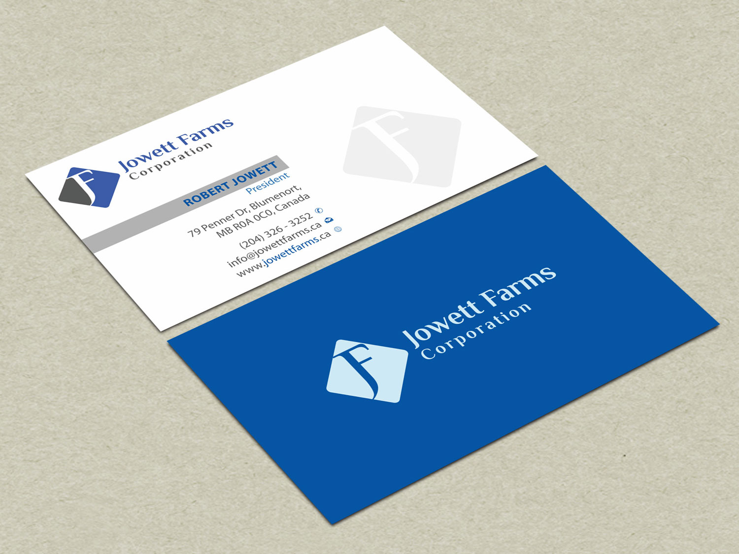 Professional, Serious, Wholesale Business Card Design for Jowett ...