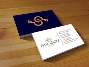 443 elegant serious real estate agent business card designs for a