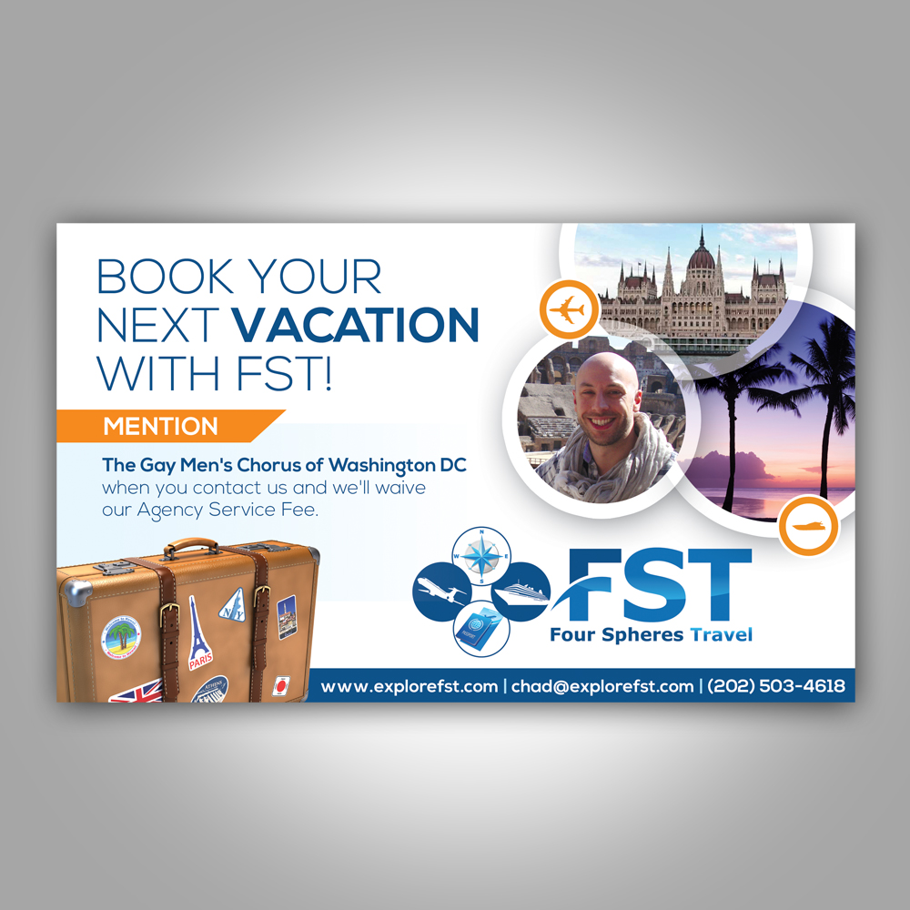 Advertisement Design By Earldesigns For Four Spheres Travel