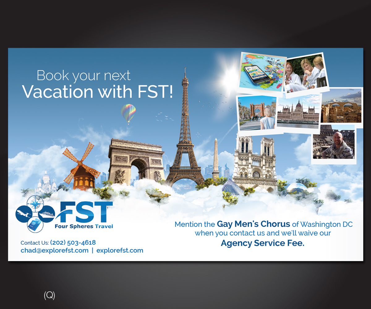 Advertisement Design By Designanddevelopment For Four Spheres Travel