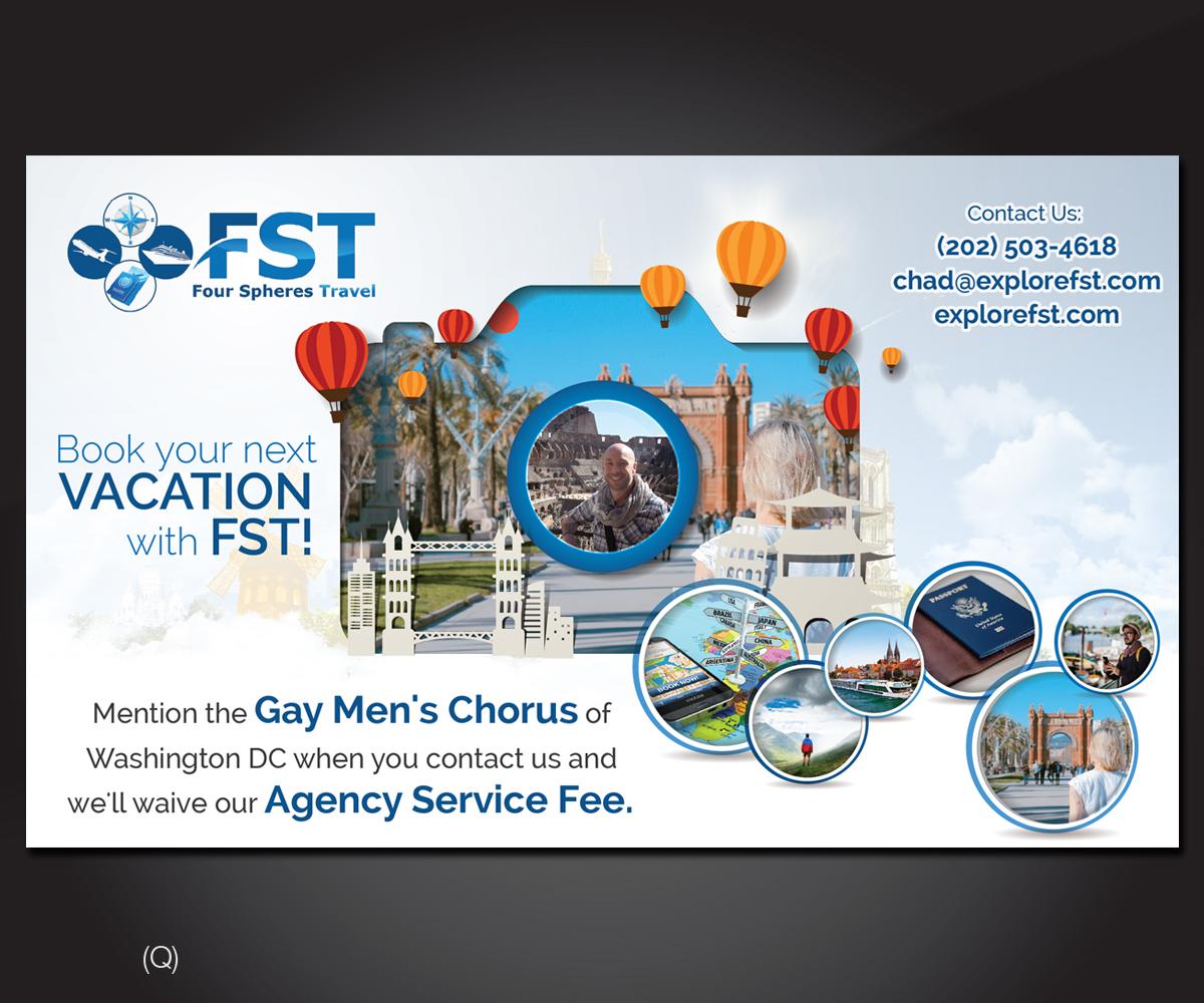 Advertisement Design By Designanddevelopment For Four Spheres Travel