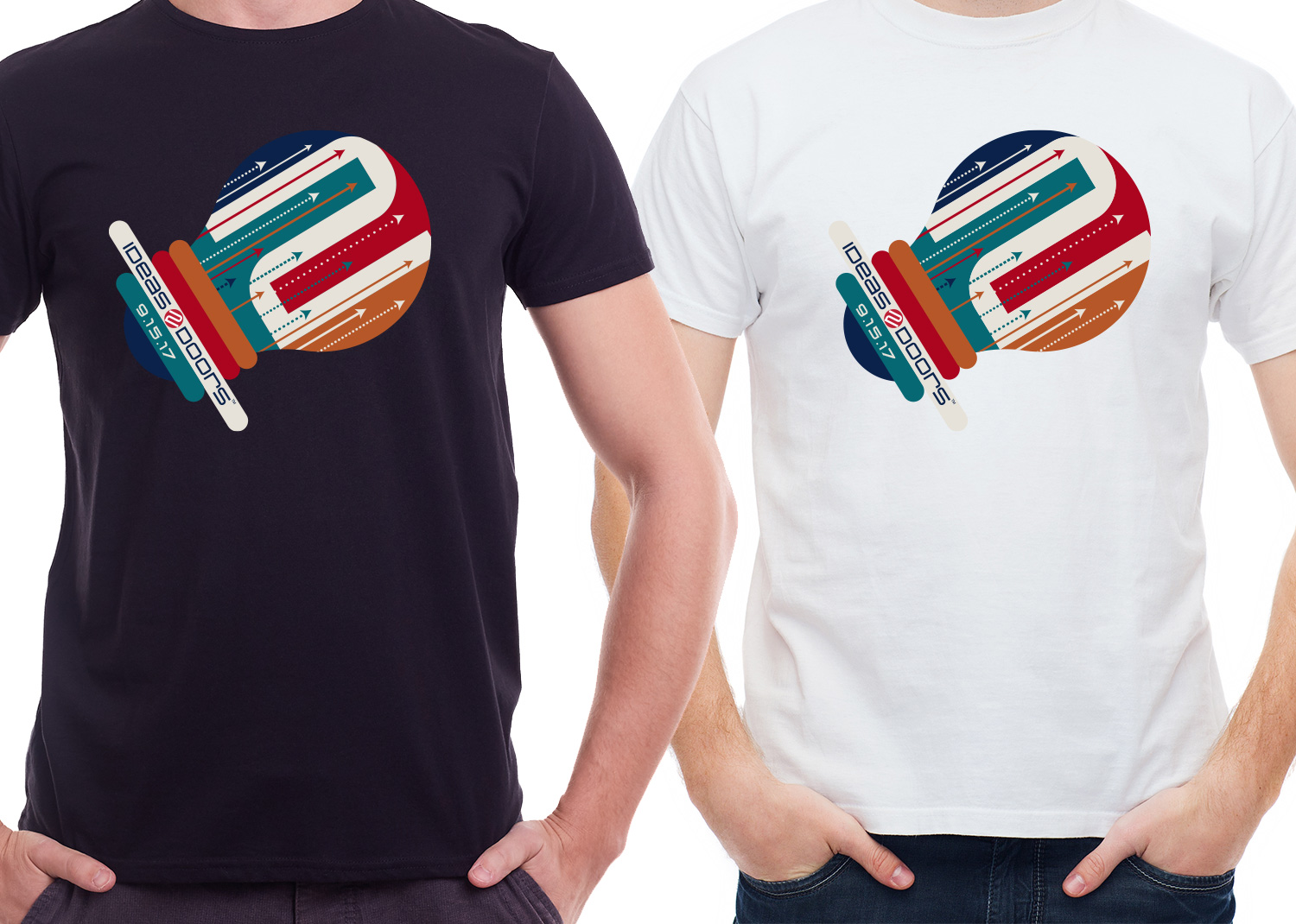 Bold playful retail t shirt design for a company by mila for Make photo t shirt online