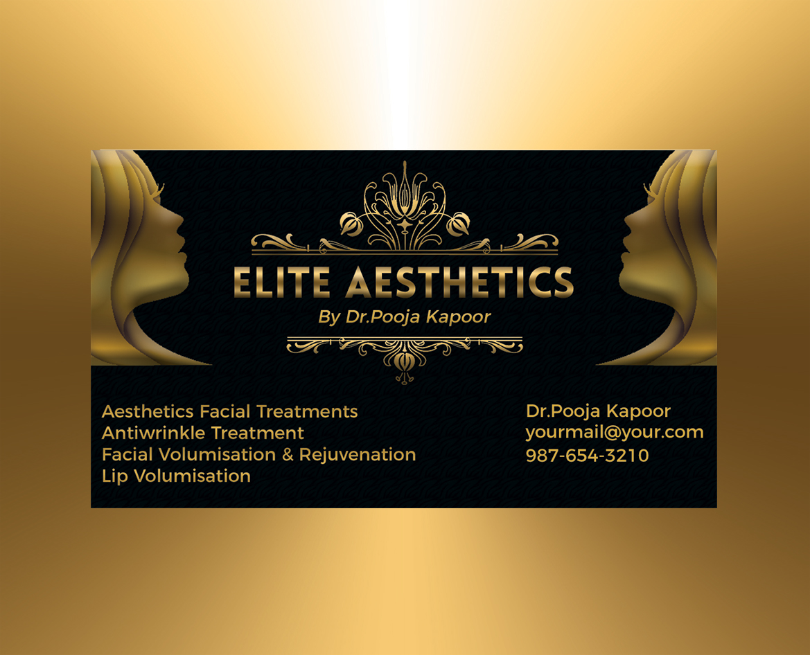 Fine Facial Business Cards Motif - Business Card Ideas - etadam.info