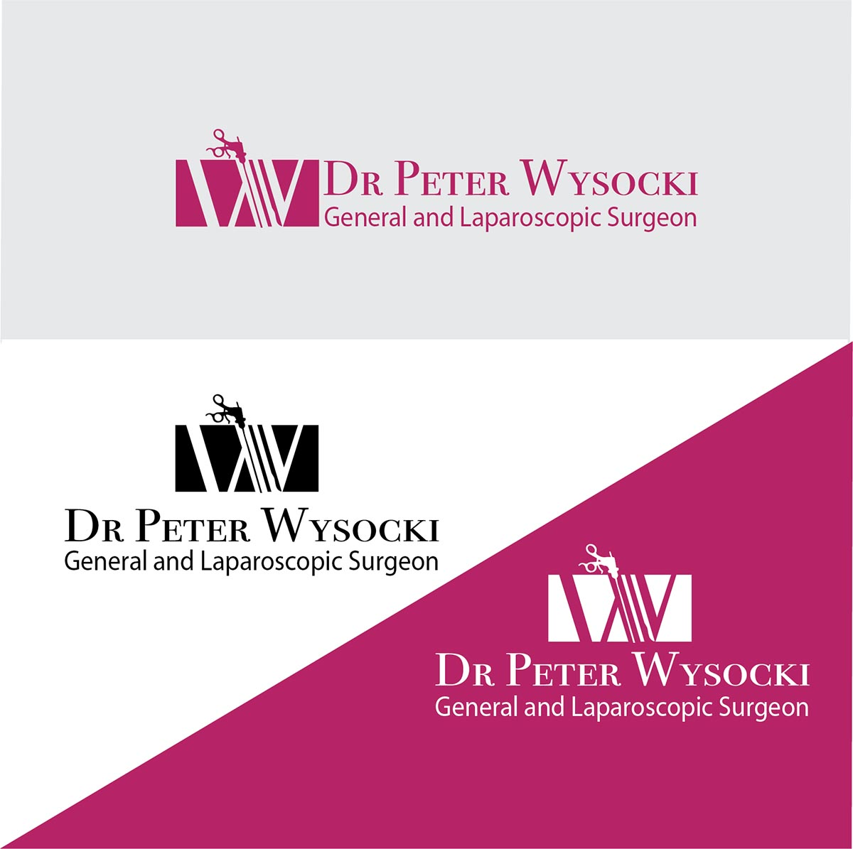 Modern Professional Health Care Logo Design For Dr Peter Wysocki General And Laparoscopic Surgeon By Idea Works Design 14567809
