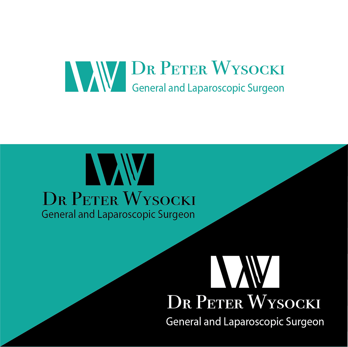 Modern Professional Health Care Logo Design For Dr Peter Wysocki General And Laparoscopic Surgeon By Idea Works Design 14569458