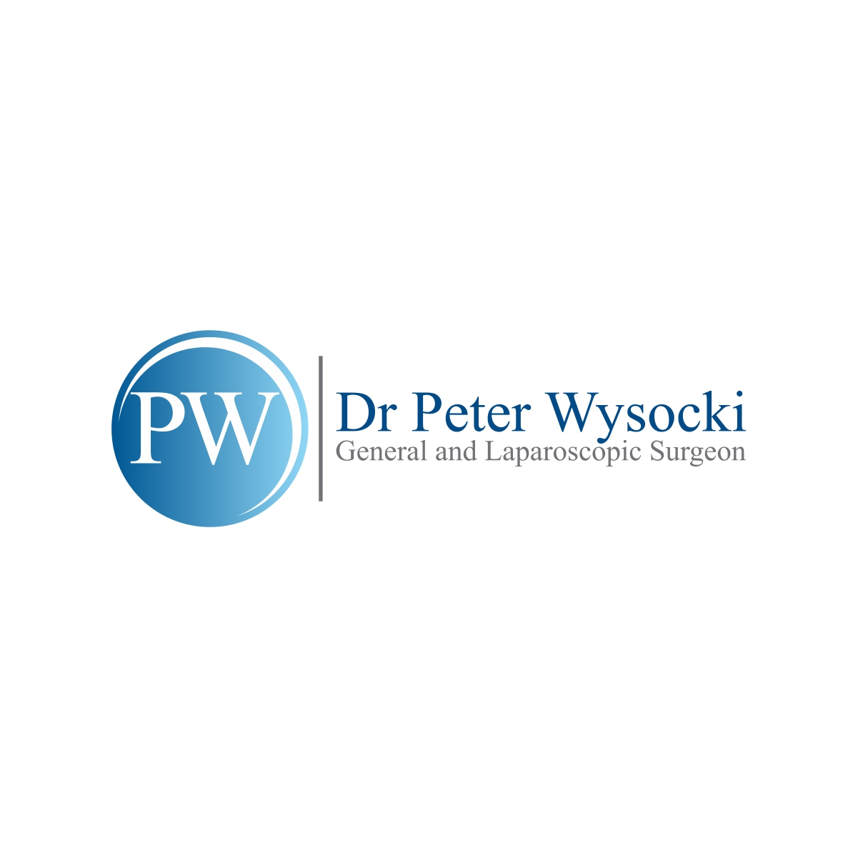 Modern Professional Health Care Logo Design For Dr Peter Wysocki General And Laparoscopic Surgeon By Papamnoguera Design 14574725