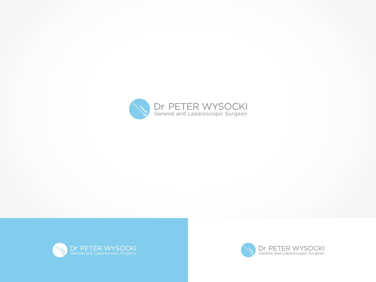 Modern Professional Health Care Logo Design For Dr Peter Wysocki General And Laparoscopic Surgeon By Arttank Design 14581690