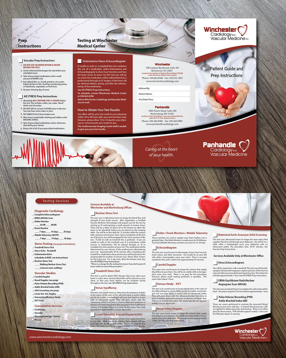 Professional, Serious, Medical Imaging Brochure Design for a Company ...