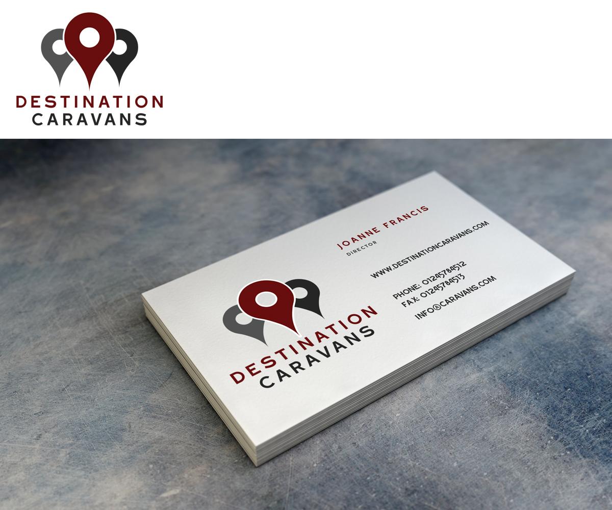 Upmarket, Serious, Retail Logo Design for Destination Caravans by ...